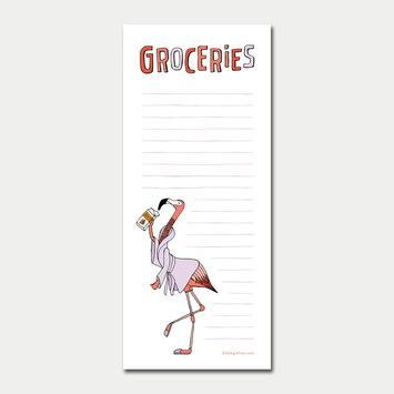 Sloe Gin Fizz Flamingo Grocery List