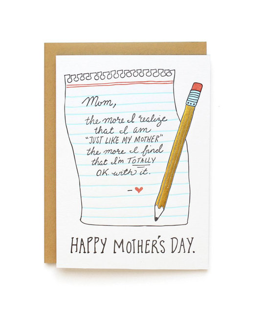 Wild Ink Press - WI Just Like Mom Card