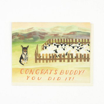 Small Adventure - SMA Sheep Dog Congrats