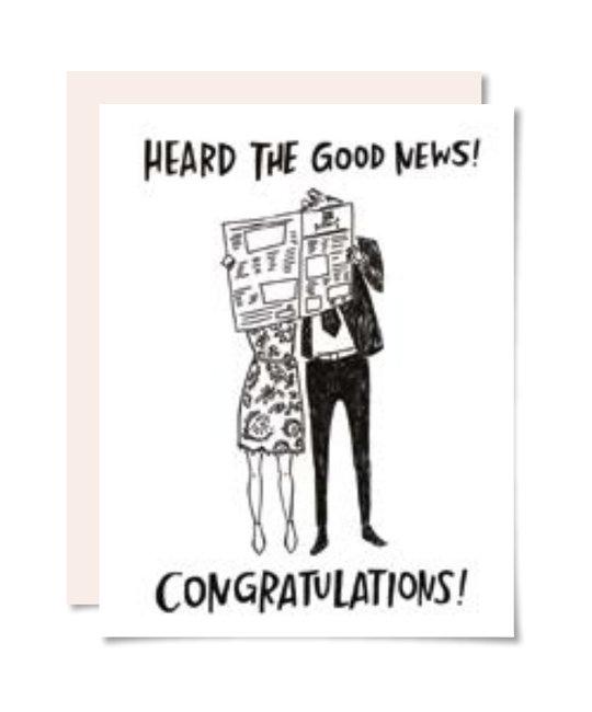 Pencil Joy - PJ Good News Card