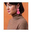 Dear Survivor - DS Pink Mocu Earrings