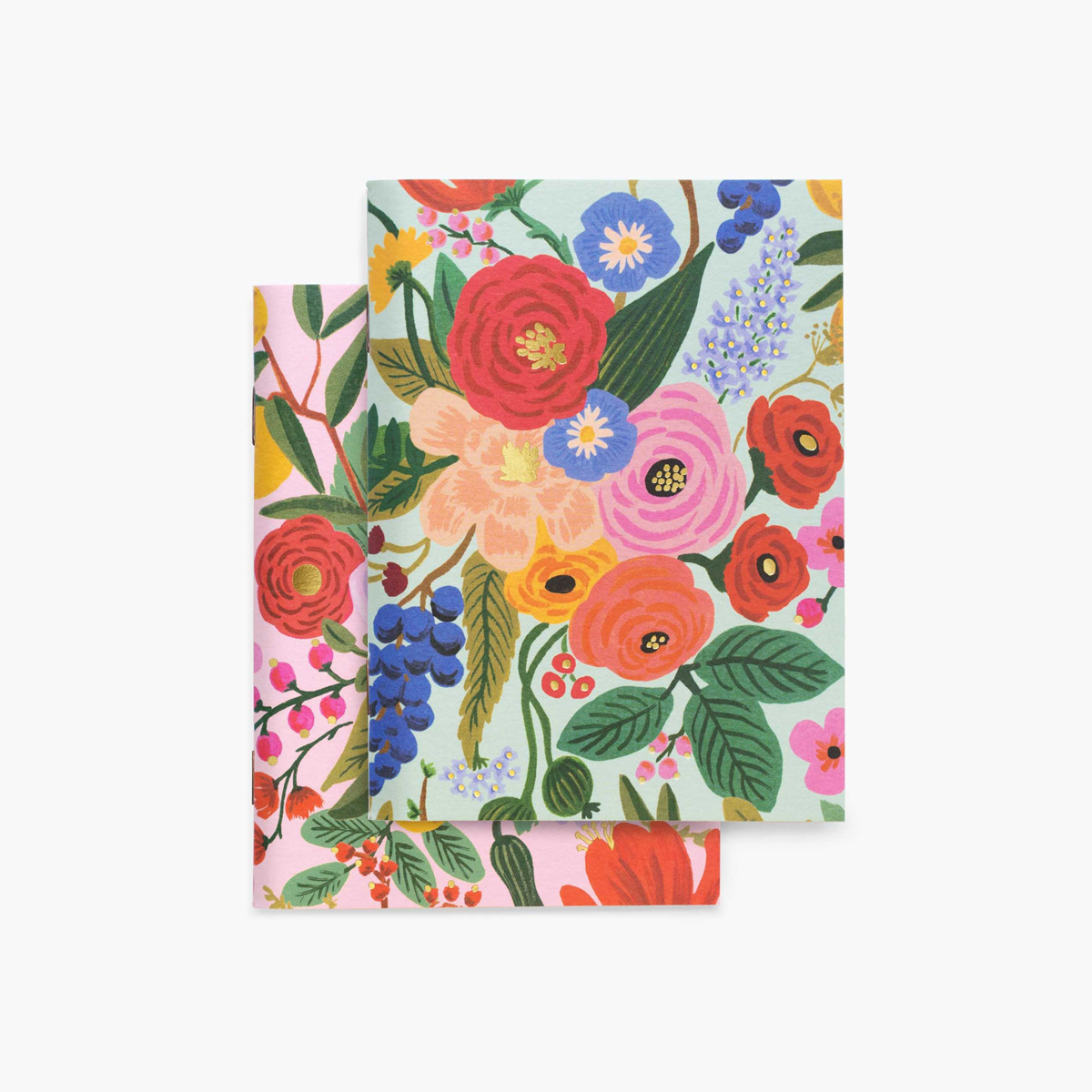 Rifle Paper Co - RP Rifle Paper - Pair of Garden Party Mini Pocket Notebooks