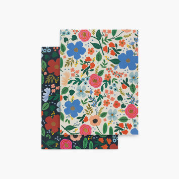 Rifle Paper Co. Rifle Paper - Pair of Wild Rose Pocket Notebooks
