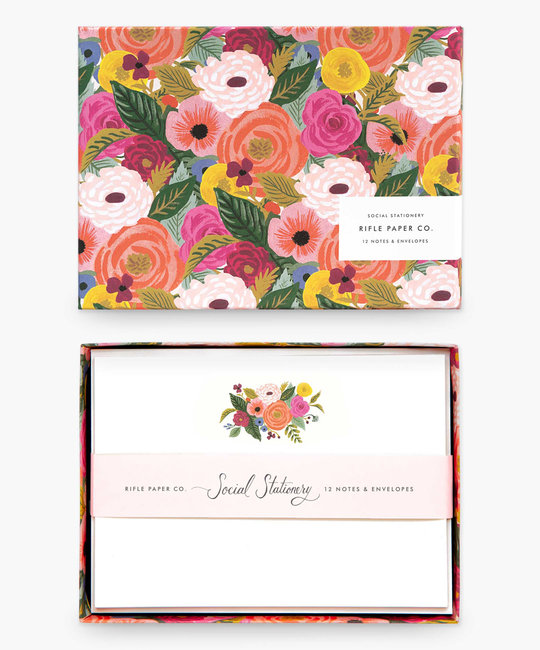 Rifle Paper Co - RP Rifle Paper Co - Juliet Rose Social Stationery Set