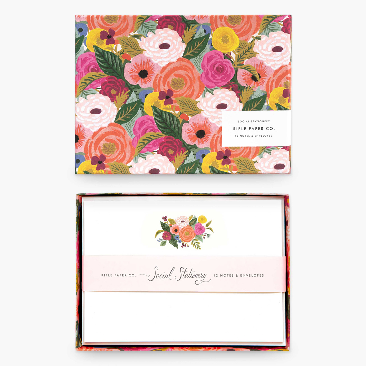 Rifle Paper Co. Rifle Paper Co - Juliet Rose Social Stationery Set