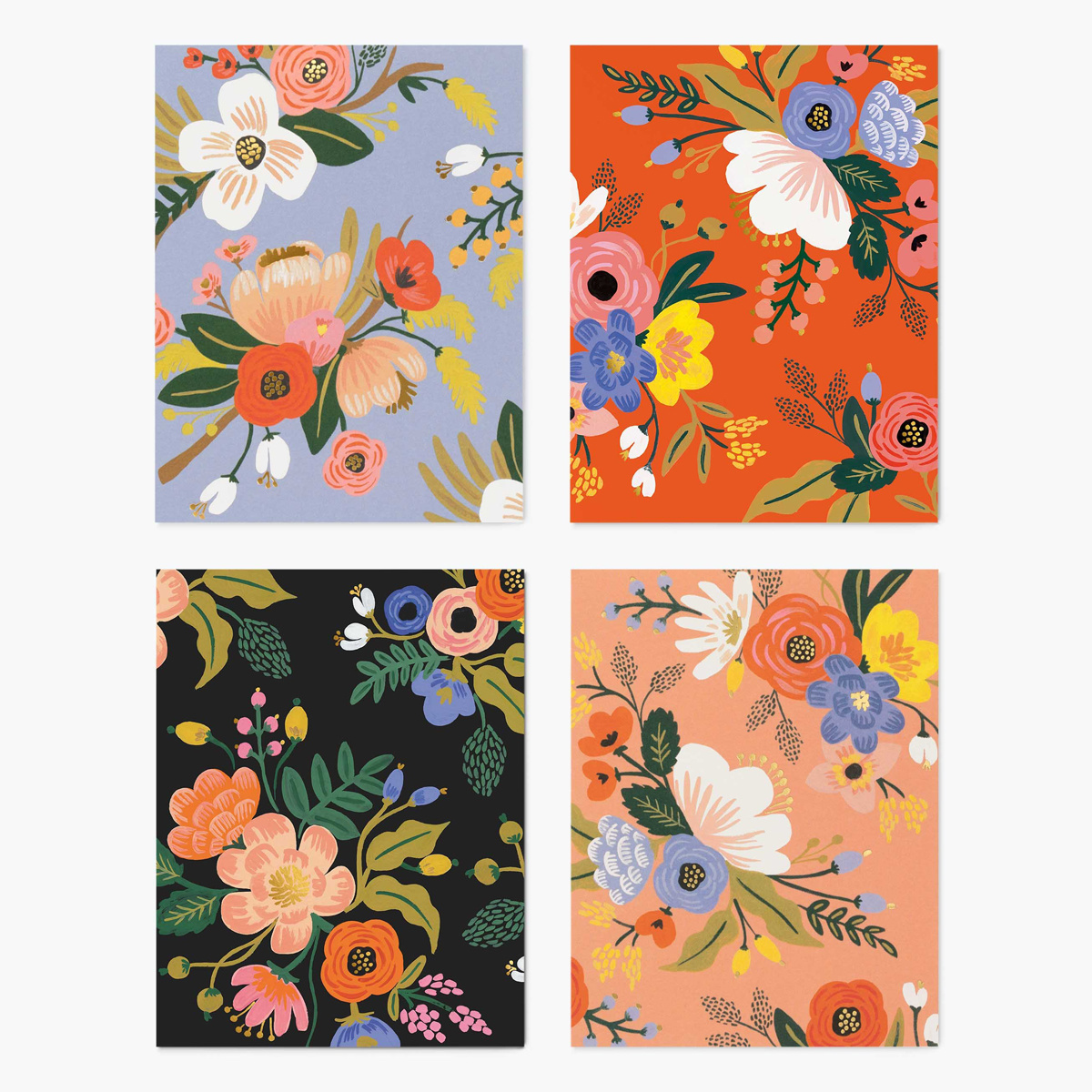 Rifle Paper Co Rifle Paper Co - Assorted Lively Floral Card Set