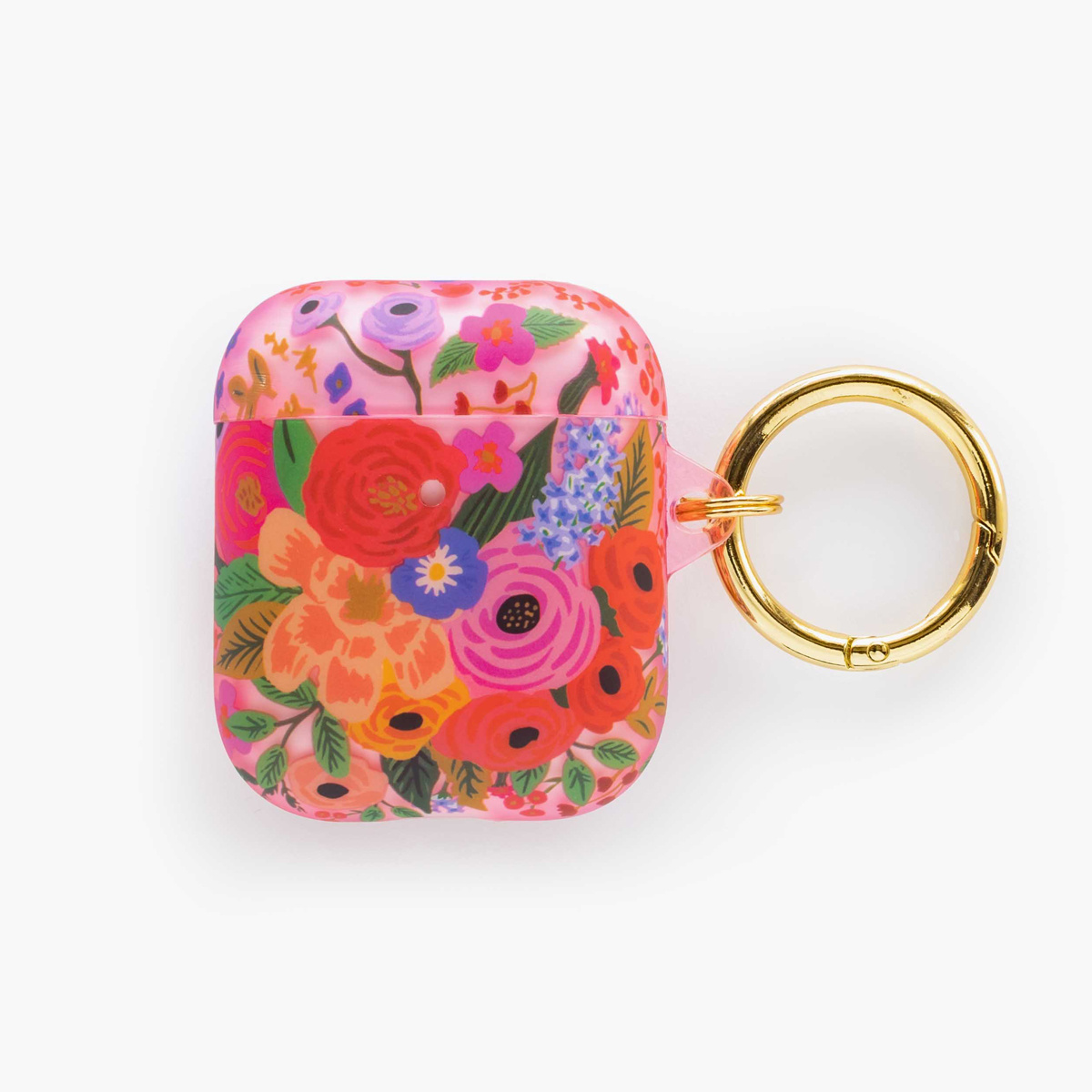 Rifle Paper Co. Rifle Paper -  Clear Blush Garden Party AirPod Case