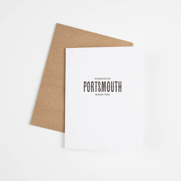 Sapling Press - SAP SAPGCFR0009 - Someone in Portsmouth Misses You