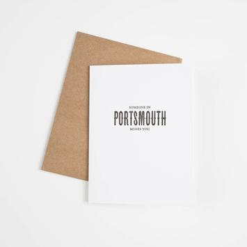 Sapling Press SAPGCMI0009 - Someone in Portsmouth Misses You