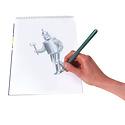 Eeboo Birds Metallic Pencils w/Sharpener
