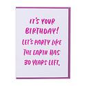 and Here We Are Thirty Years Birthday