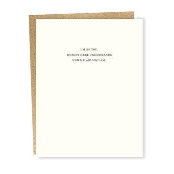 Sapling Press Mild Confessions: Hilarious Card