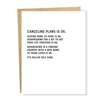 Sapling Press Canceling Plans Ok Card