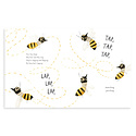 Simon and Schuster The Honeybee by Kirsten Hall and illustrations by Isabelle Arsenault