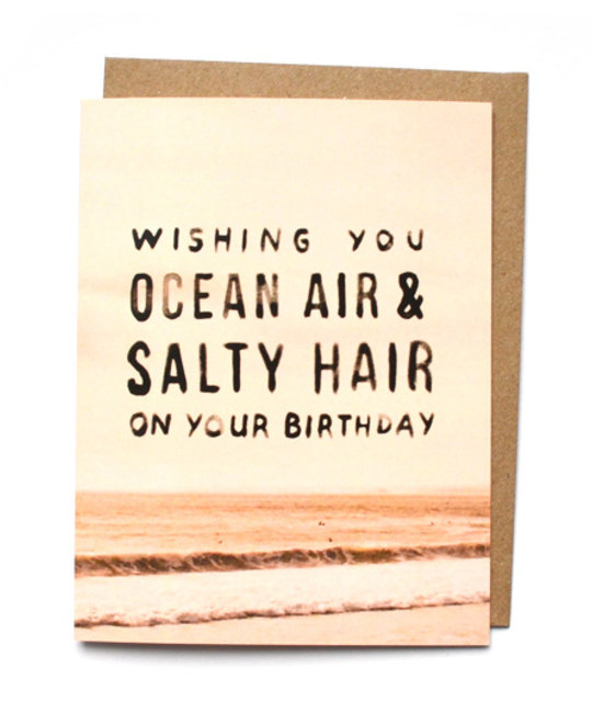 Daydream Prints - DP Ocean Air, Salty Hair