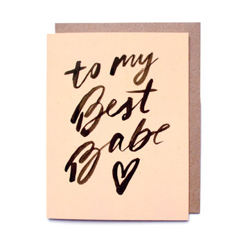 Daydream Prints My Best Babe