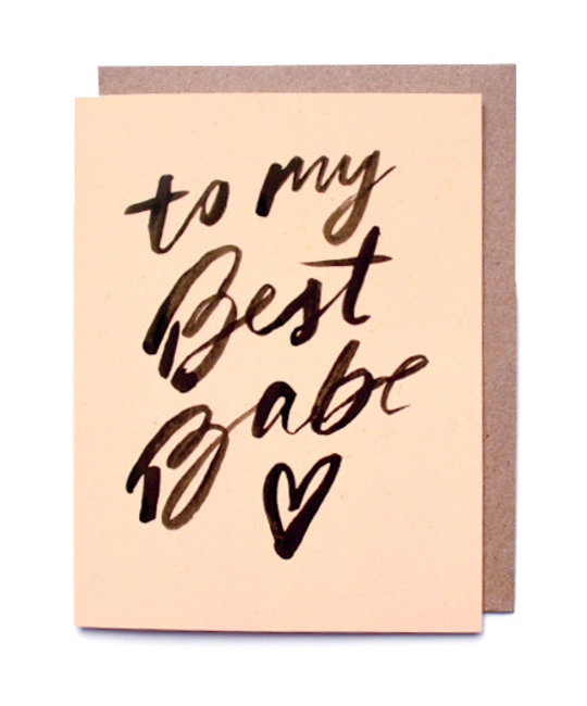 Daydream Prints - DP My Best Babe