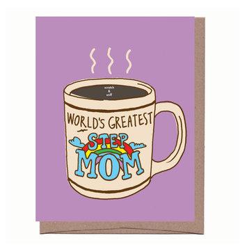 La Familia Green Scratch and Sniff Step Mom Mug