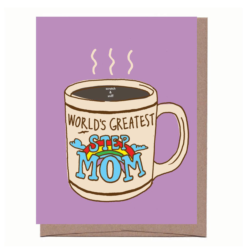 La Familia Green - LFG Scratch and Sniff Step Mom Mug