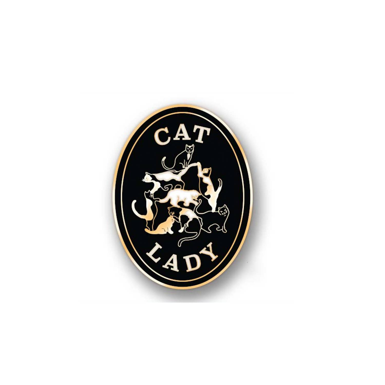 Antiquaria - AN Cat Lady Pin