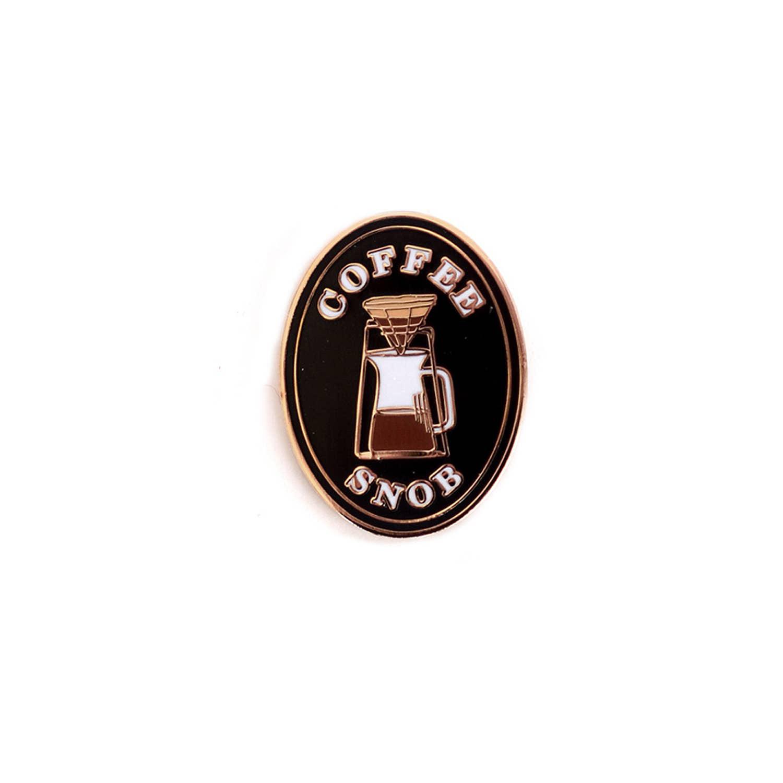Antiquaria Coffee Snob Pin