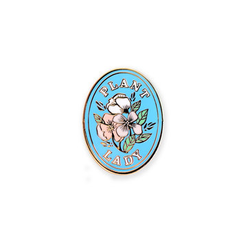 Antiquaria Plant Hoarder Pin