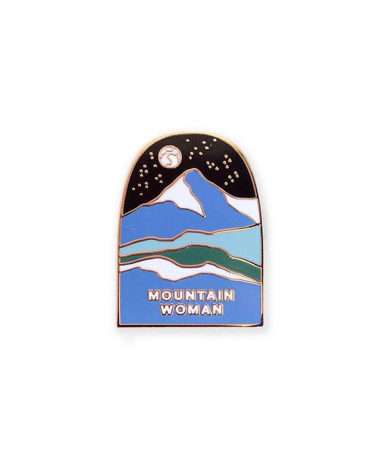 Antiquaria Mountain Woman Pin
