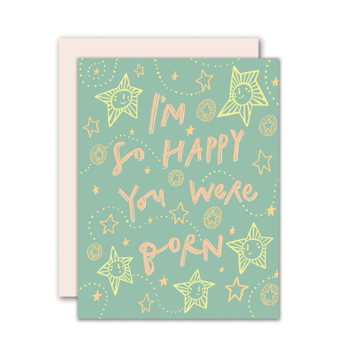 Pencil Joy - PJ Happy You Were Born