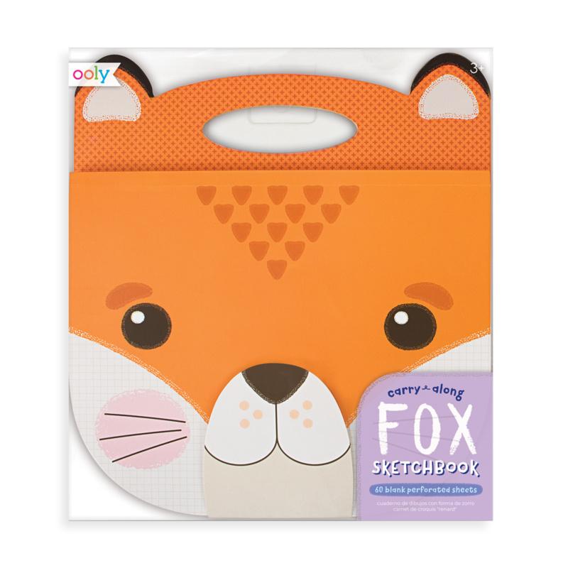 OOLY Fox Carry Along Sketchbook