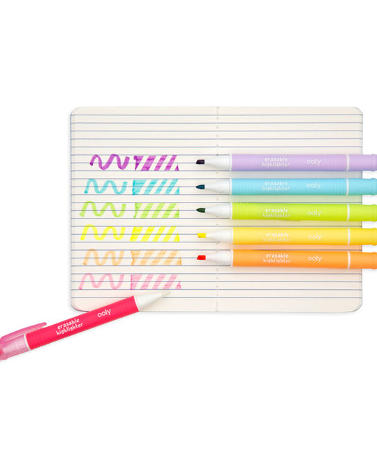 OOLY - OO Mini Magic Liners Erasable Highlighters (Set of 6)