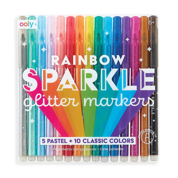 OOLY - OO Rainbow Sparkle Glitter Markers