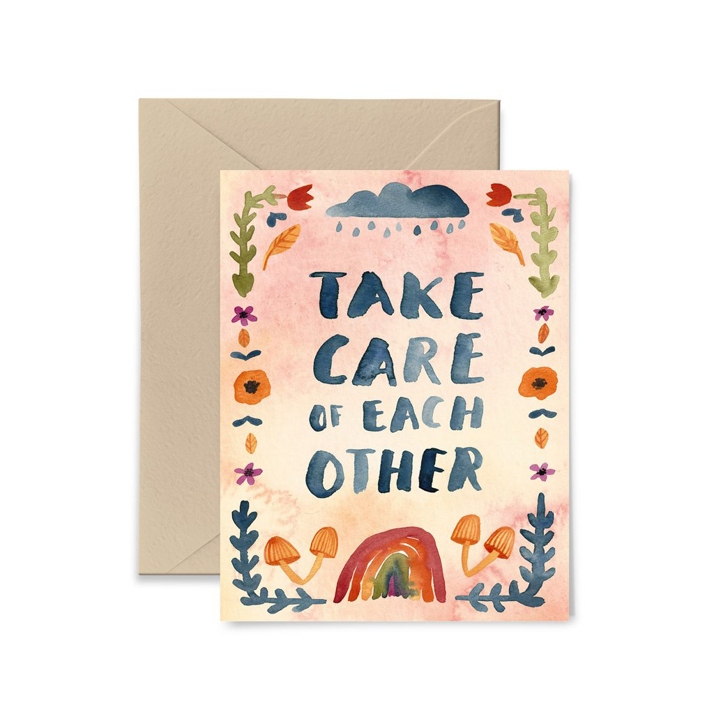 Little Truths Studio - LTS Take Care of Each Other Card