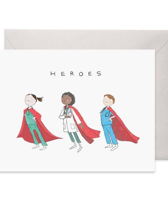 E. Frances Paper Studio - EF Healthcare Heroes Card