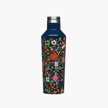 Corkcicle - CO Corkcicle x Rifle Paper Co - Navy Wild Rose Canteen
