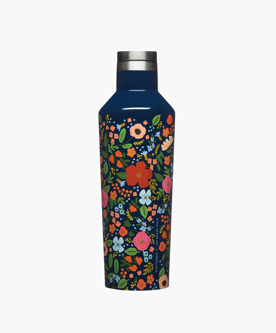 Corkcicle Corkcicle x Rifle Paper Co - Navy Wild Rose Canteen