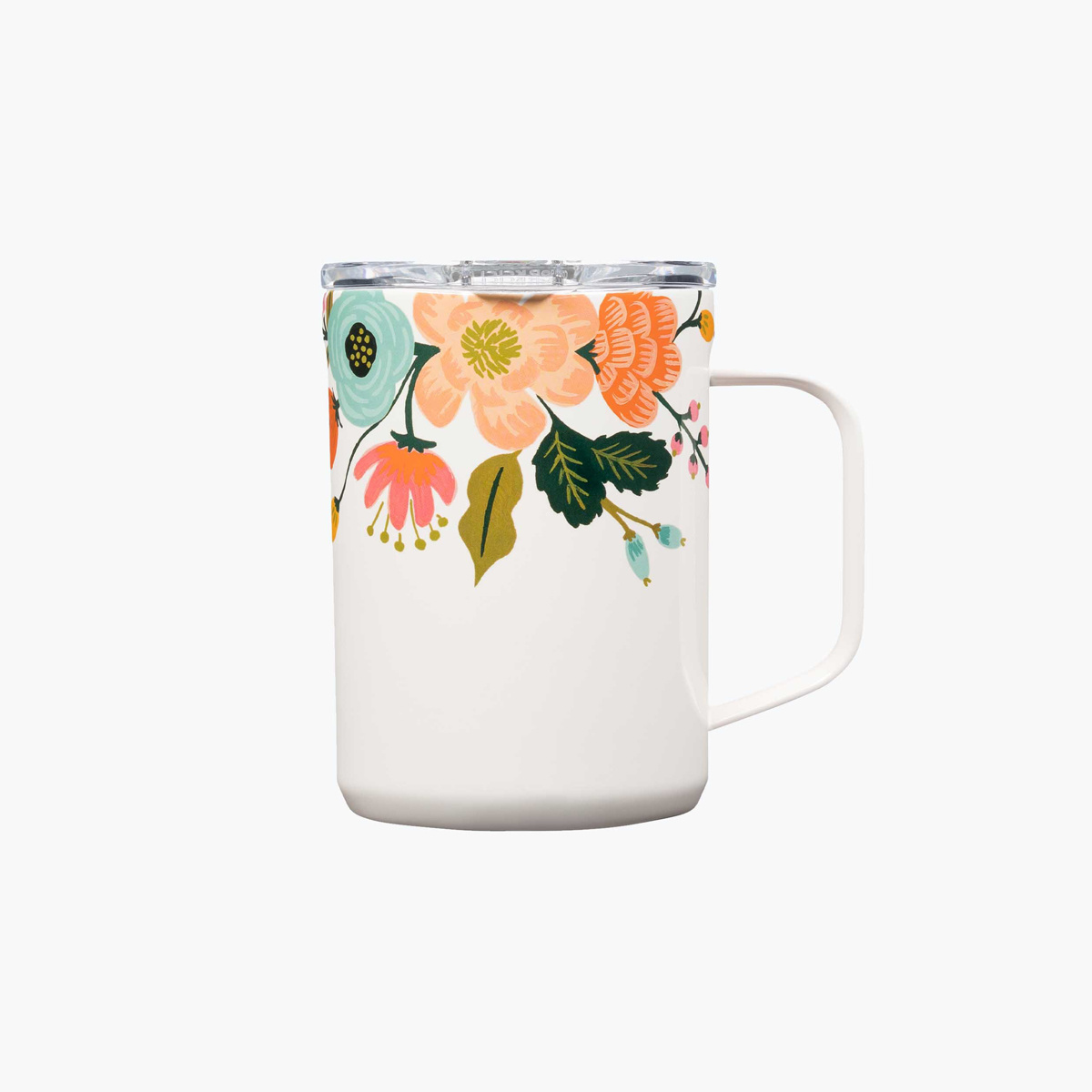 Corkcicle - CO Corkcicle x Rifle Paper Co - Cream Lively Floral Mug