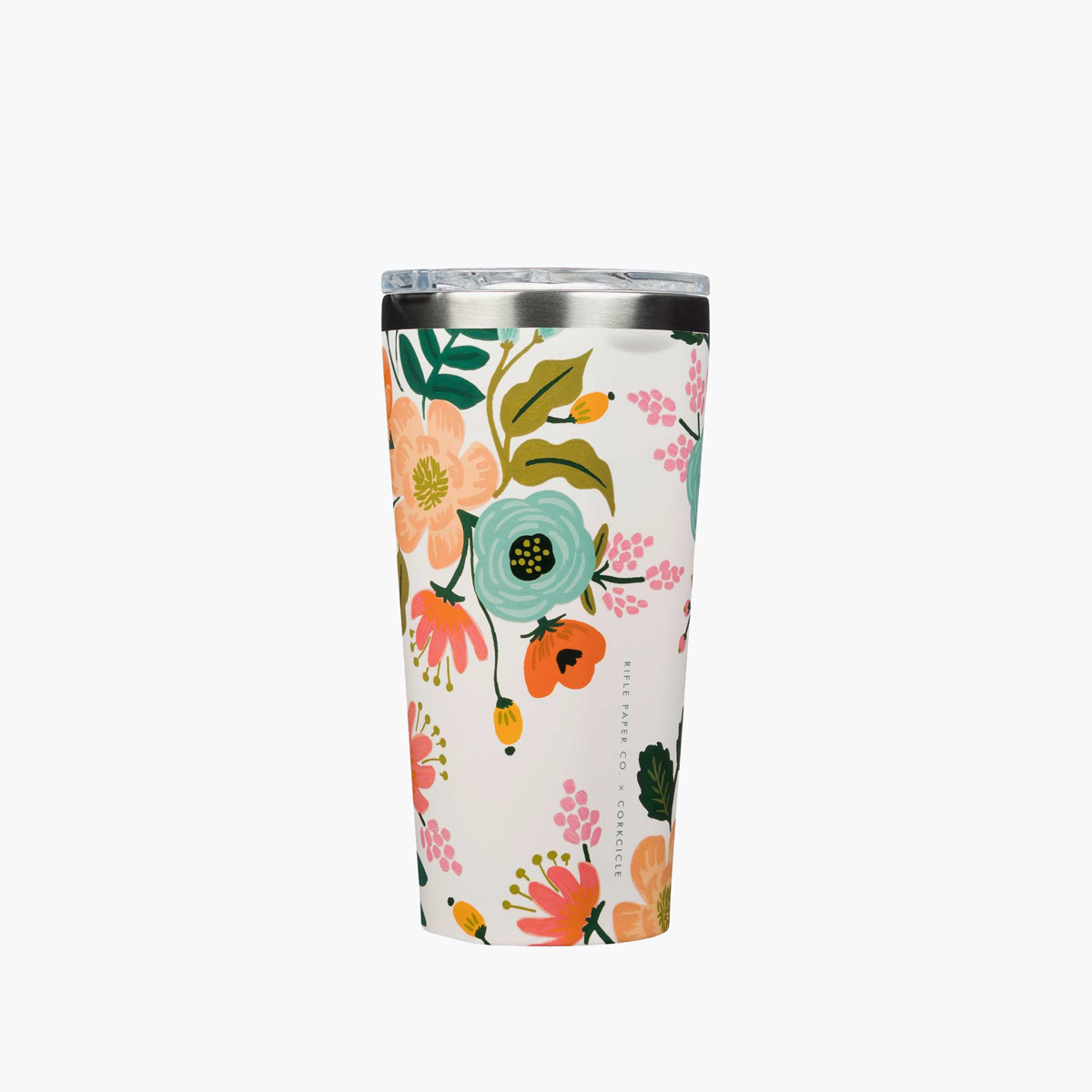 Corkcicle - CO Corkcicle x Rifle Paper Co - Cream Lively Floral Tumbler