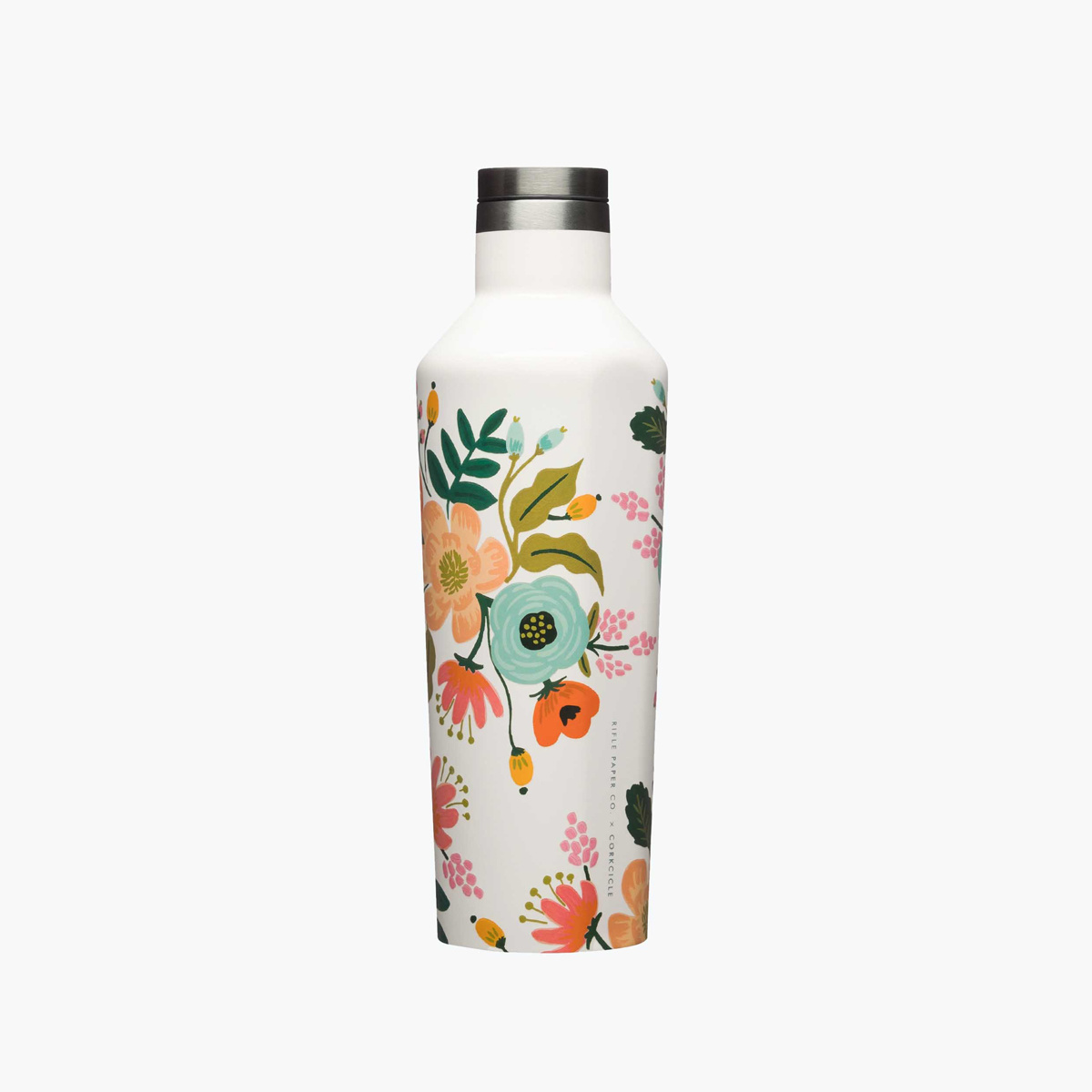 Corkcicle - CO Corkcicle x Rifle Paper Co - Cream Lively Floral Canteen