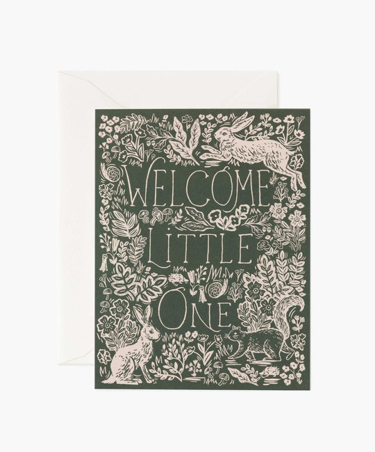 Rifle Paper Co - RP Rifle Paper Co - Fable Baby Card