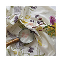 June and December Butterfly Garden Flour Sack Tea Towel