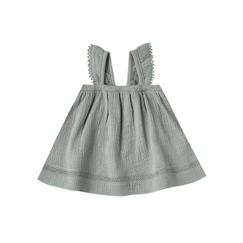 Quincy Mae Quincy Mae Ruffled Tube Dress