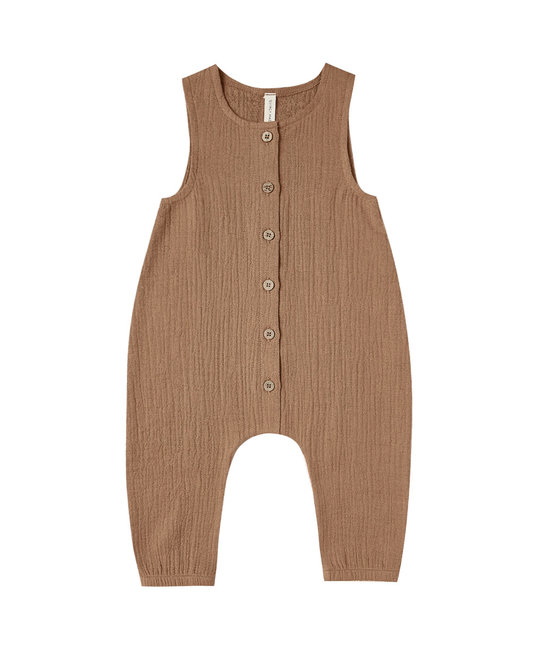 Quincy Mae - QM Quincy Mae Woven Snap Jumpsuit
