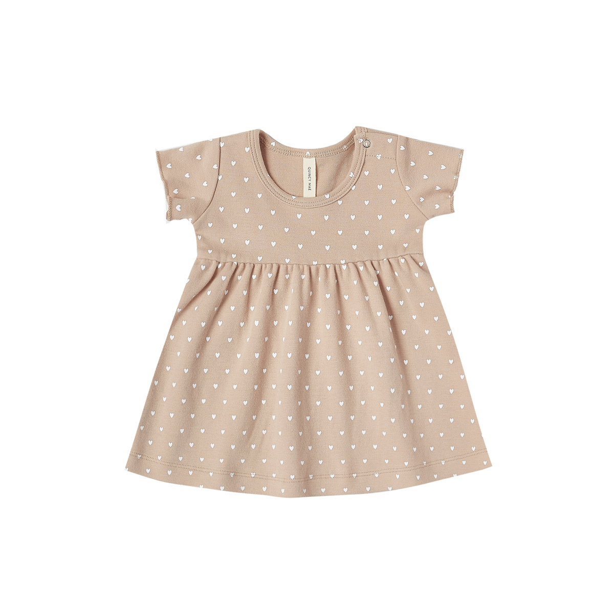 Quincy Mae Quincy Mae Short Sleeve Baby Dress