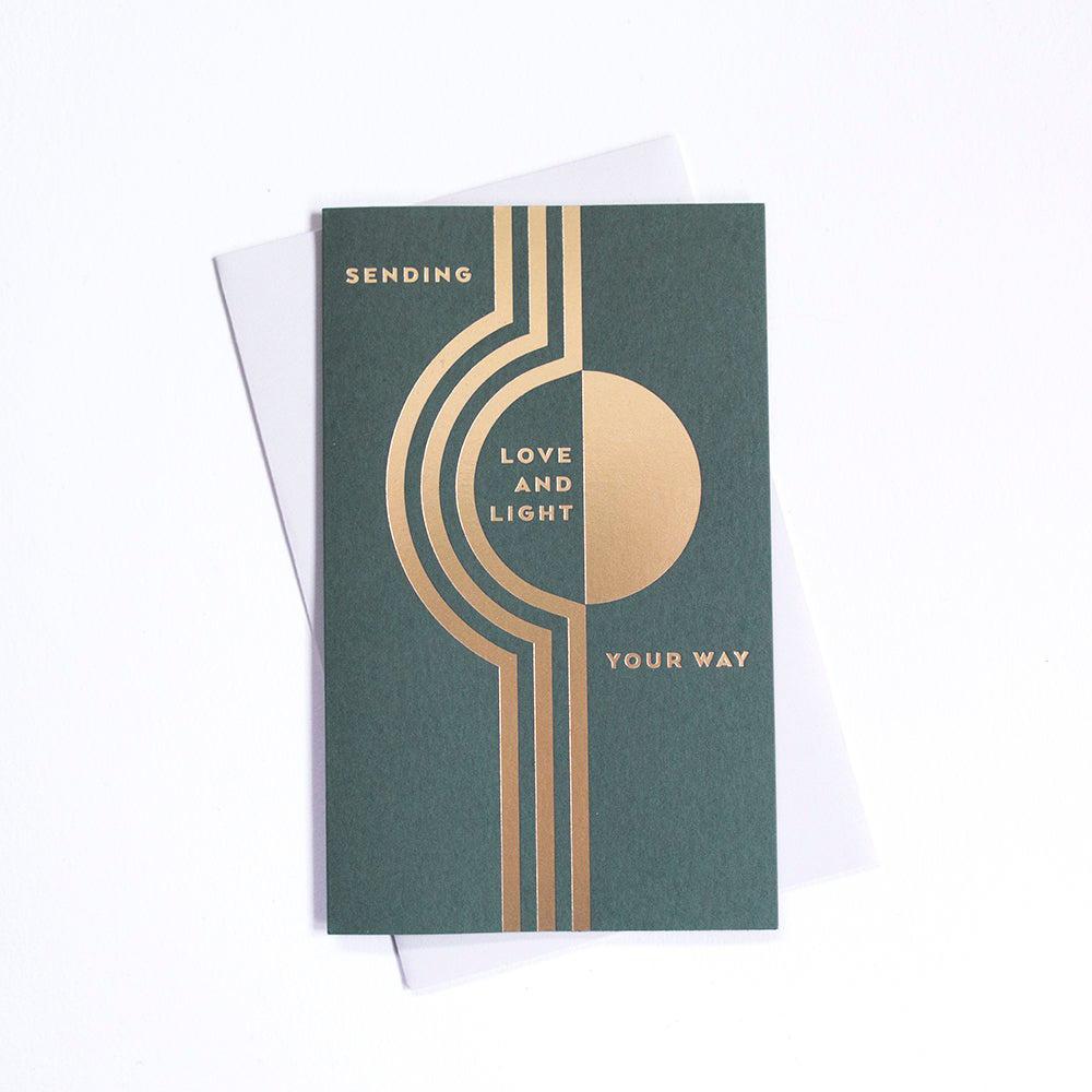 Anemone Letterpress Love & Light