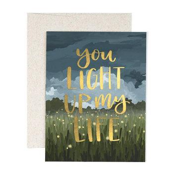 One Canoe Two Letterpress - OC You Light Up My Life