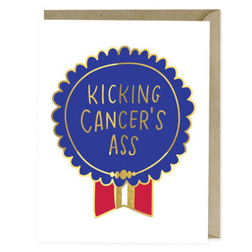 Emily McDowell Kicking Cancer's Ass Card