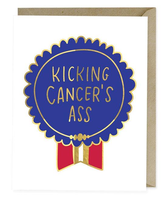 Emily McDowell - EMM Kicking Cancer's Ass Card