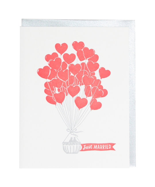 Smudge Ink - SI Heart Air Balloons