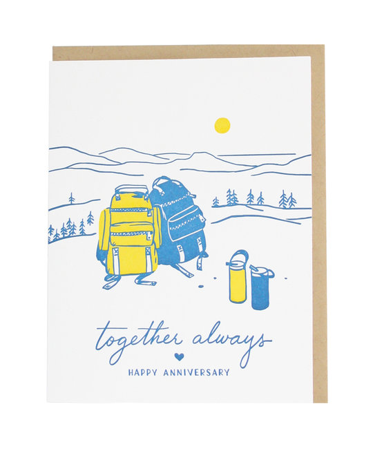 Smudge Ink - SI Backpacks Anniversary Card