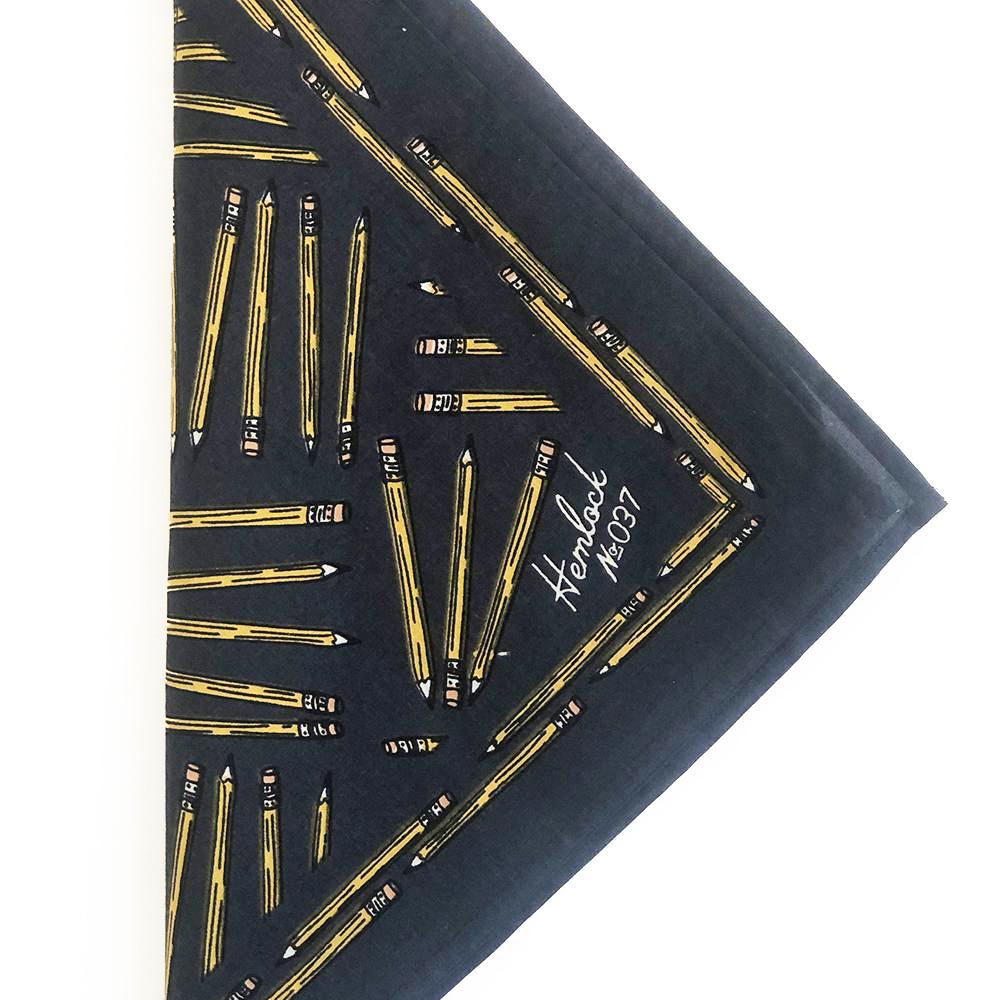 Hemlock Goods Hemlock Goods - No. 037 Pencils Bandana